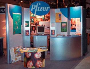 Pfizer w Nimlink Modular Exhibit