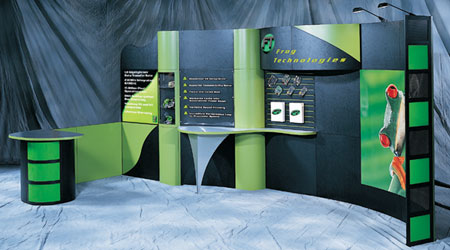 Custom Exhibit for Frog Technologies w/ Nimlink