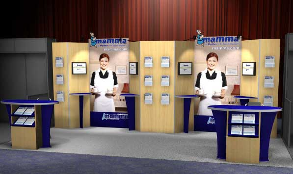 Modular Panel System Laminate Covered Custom Exhibit view