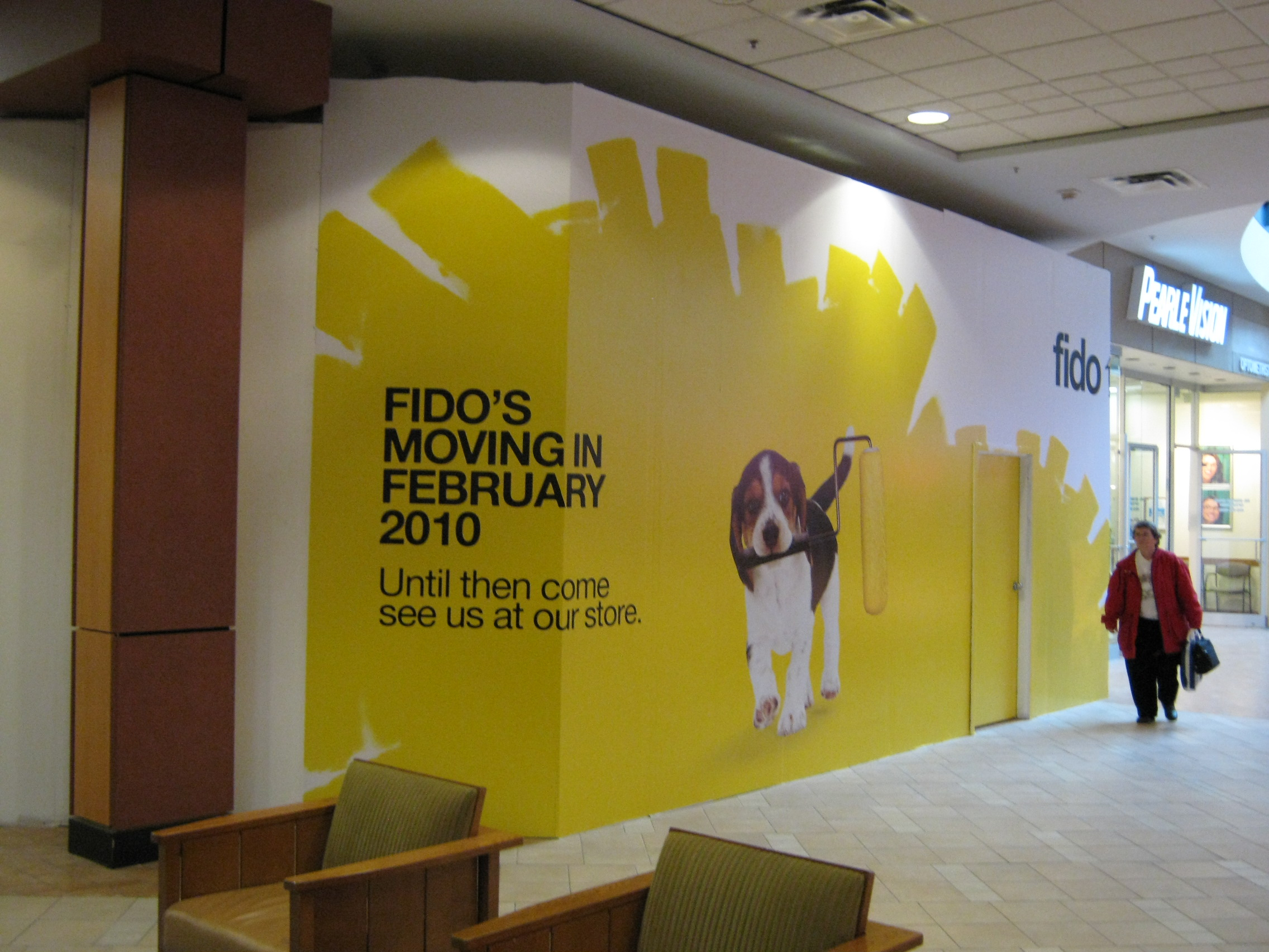 Fido Phones Wall Graphics