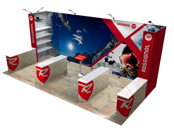 Rossignol Panoramic Modular Exhibit