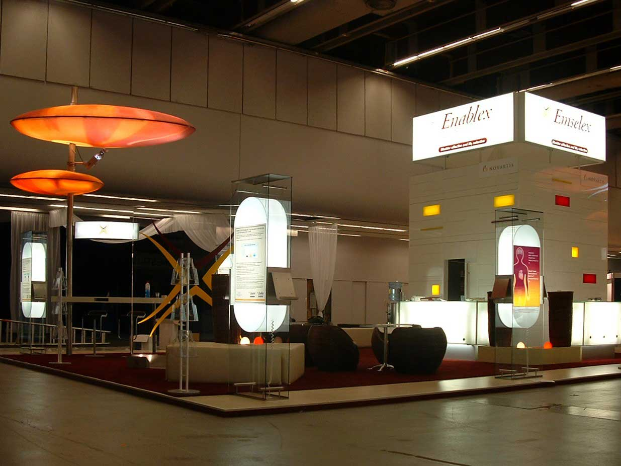 Another example of modular and custom Exhibit Design