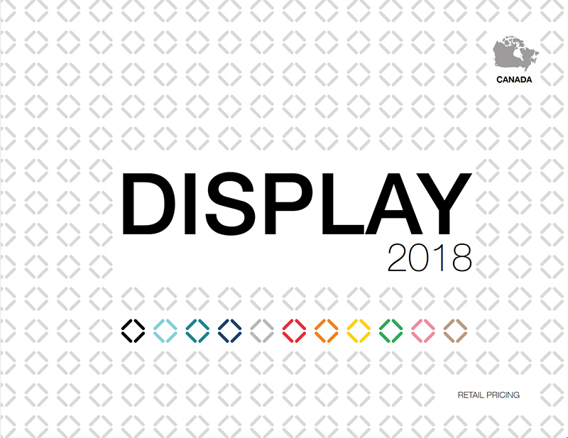 Booths and large format displays for visual communication 2018